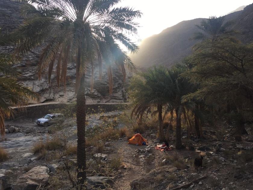 Camping im Oman