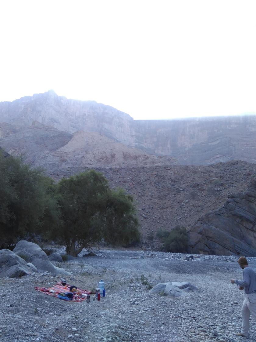 Picknick im Oman