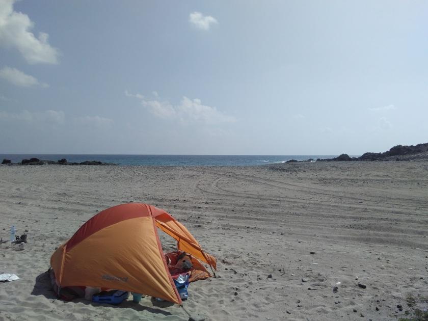Strand auf Masirah