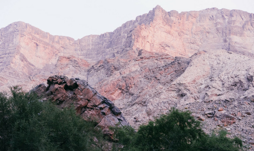 Gebirge im Oman