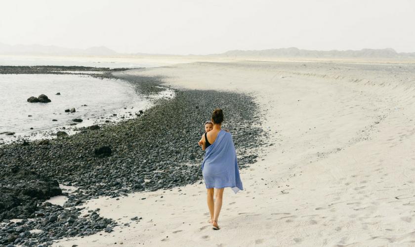 auf Masirah am Strand, Oman