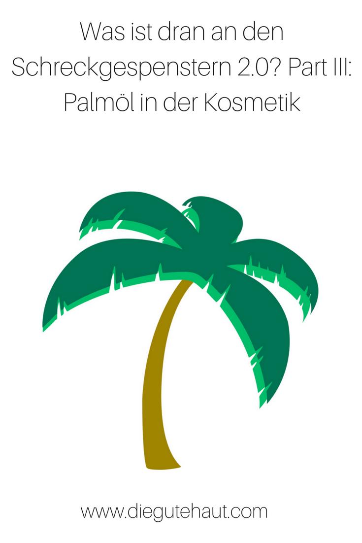 Ölpalme, Palmöl