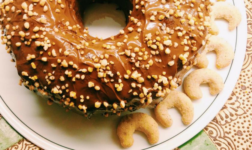 Weihnachtsplätzen verwerten: Kuchen backen aus Keksen